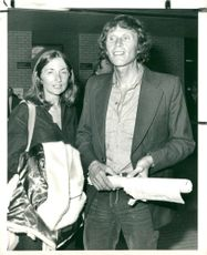 Dougal Haston with his wife Anne Haston.