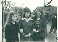Schools 1970-1979:Three of the five girls suspended.