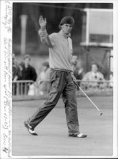 Anders Forsbrand in the British Open