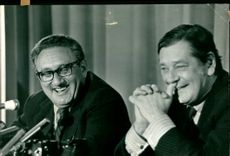 Dr. Henry Kissinger and Mr. Crosland.