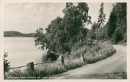 Postcard of Åsunden in Ulricehamn.