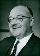 Portrait of a Unionist Member of Parliament and Minister of Development in Northern Ireland Government, William Joseph Long.