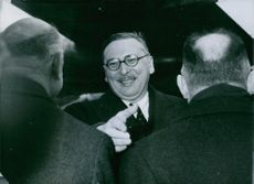 Rene Pleven, Head of Government, returning from his trip to the United States, has returned in Paris.