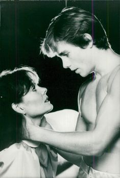 Lesley Ann Warren and Christopher Atkins in the movie
