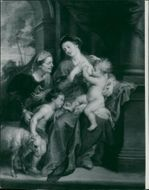 Sir Peter Paul Rubens: holy family.
