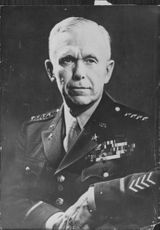 Portrait of General George Marshall