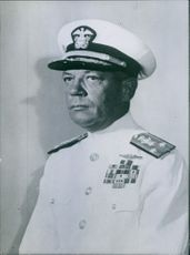American Service Chiefs Portrait of Francis S. Low Deputy Chief of Naval Operations (Logistics).