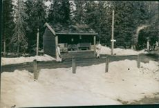 Norwegian soldier camp during the German occupation. 1940