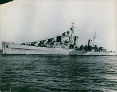 """Grafting Operation on ship the German's """"sank."""""""