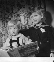 "Johan Jonatan ""Jussi"" Bjorling's children."