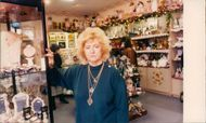 PAT DUVALL OWNER OF VICTORIANA'S IN CASTLE MALL
