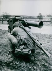 West German Views: Milan Anti-Tank Missile 1984