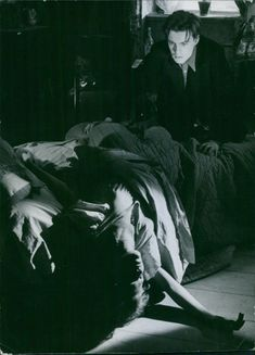 A scene from the film Torment, 1944.