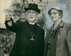 Geoffrey Fisher with his Wife.