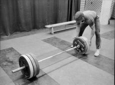 Weightlifting Jan Eriksson