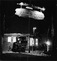 Tombstone Saloon in the night.