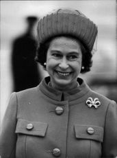 Portrait image of Queen Elizabeth II taken in an unknown context.