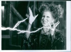 "Bette Midler in a scene from ""Hocus Pocus"" (1993 film)."
