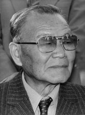 Yun Posun in a portrait.