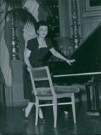 Señorita Carillo gives a concert at the Concert Hall. - 23 March 1948