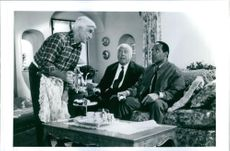 A scene from the film The Naked Gun. 1988