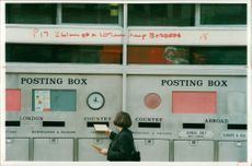 Royal mails post office.