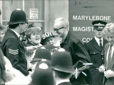 English musician Boy George appeared at Marylebone Magistrates Court.