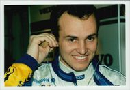 Portrait image of Rickard Rydell taken in conjunction with the contests at Donnington Park.
