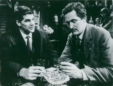 """Edward Brayshaw and Bernard Brown in the English Criminal Series """"The Fall Harry Brent"""""""