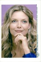 Michelle Pfeiffer during a press conference