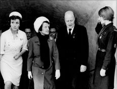 Portrait image of Rose Kennedy taken in an unknown official context.