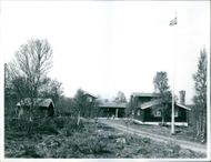 A photo of the Norwegian politician, labour leader, government official and author Trygve Lie's home.