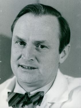 Close-up photo of Professor Carlsson Arvid.