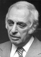 Portrait of Bernard Lewis.