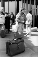British students residing in Kiev and Minsk on their way home after the Chernobyl accident
