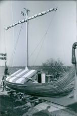 A photo of a boat, 1969.