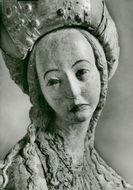 Detail from sculpture representing Maria Magdalena of Bernt Notke in the Petri cathedral