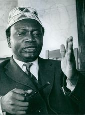 Portrait of Ronald Ngala, Kenya Politician
