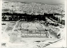 Arena under construction - OS 1992