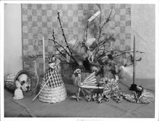 Easter decorations in stores before Easter - 3 April 1939