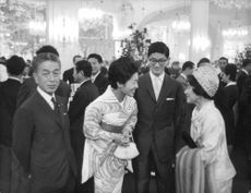 Prince  Hisanaga Shimazu with wife Princess Takako Shimazu in Paris