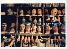 Museum with wax cabinets, Madame Tussauds
