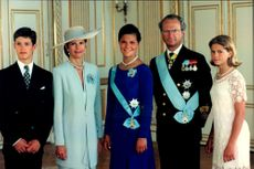 Royal Family at Crown Princess Victoria's 18th Birthday