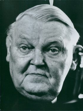 Close-up photo of Professor Ludwig Erhard.