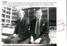 Sir John Quinton with Andrew Buxton.