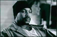 """Actor Mykelti Williamson in the movie """" Truth or Consequence"""" 1997"""