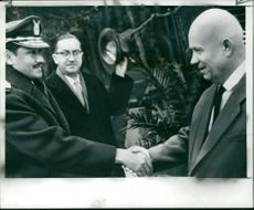 Mr. Khruschev and Vice Air Marshal Maradani.