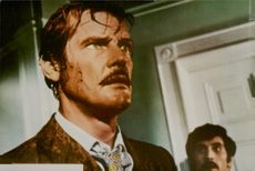 """Roger Moore in the role of Pelham in the movie """"The Man Who Chased Himself""""."""