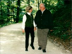 Helmut Kohl and Hannelore Renner.