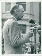 Prime Minister Sir Alec Douglas-Home speaks